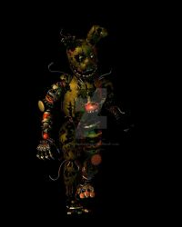 CoolioArt's Springscrap [walk cycle] by LillyTheRenderer