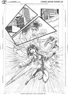 Rafalee Pencil X-men Page01 by TheRafaLee
