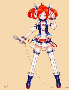 Vocaloid China Project Design by PolkaDotedFlower