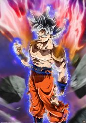 Goku Mastered Ultra Instinct by Maniaxoi