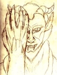 Blood on My Hands - sketch by archaemic