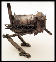 Steampunk Walker toy by Vice552
