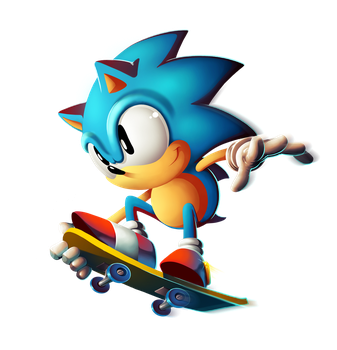 Sonic The Hedgehog - Classic by sergio-borges