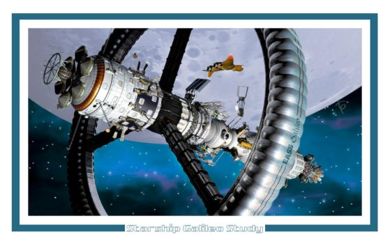 Starship Galileo Study by Drell-7