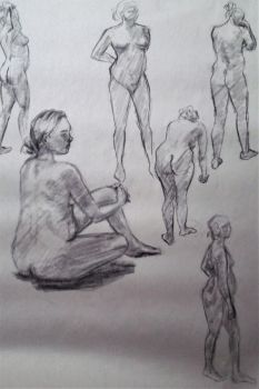 Figure Drawing 3 by JaceyKing