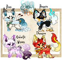 (Closed) SoulFox Adoptable Batch Auction! by SetSaiI