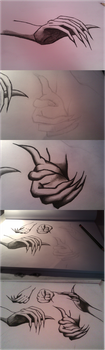 Charcoal Hands by CaptainVonJr