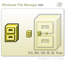 Windows File Manager Icon by graywz