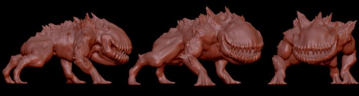 Creature Speed Sculpt 02 by clanaghan