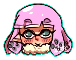 SS: Team Ice Stickers - Loni by AngeltheMerman