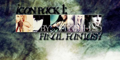 Icon Pack 1: Final Fantasy by Splash-123