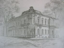 Odessa Architecture. Museum of West and East Arts. by IdeaPresent