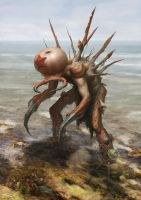 Low Tide Beast by Quentinvcastel