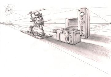 Perspective Drawing 1 by ProfessorMegaman