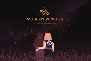 Modern Witches - Creative Sisterhood by Vicky-Pandora
