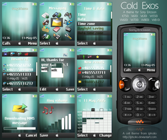 Cold Exos For Sony Ericsson by ipholio