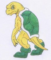 Koopa Troopa by Scatha-the-Worm