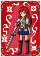 Erza Scarlet by ninpeachlover