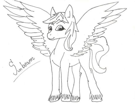 Sunbeam practice-sketch by StarLilly08