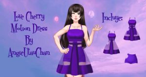 (Pack) Love Cherry Motion by AngieUtauChan