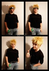 NEW NARUTO WIG STYLE by Leox90