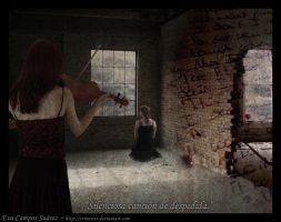 Goodbye silent song by Evinawer