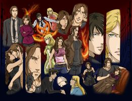 Vampire Academy Collage by ninawesth