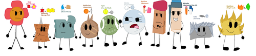 BFDI Descendants by jaybirdking85