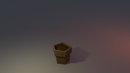 Low poly Pot by lithium-sound