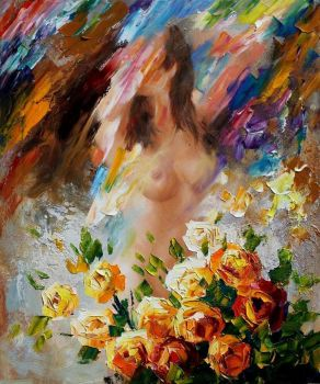 Dream by Leonid Afremov by Leonidafremov