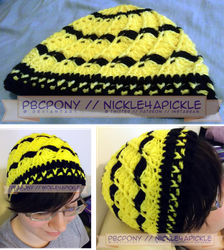 Shell Hat: Hufflepuff by pbcpony