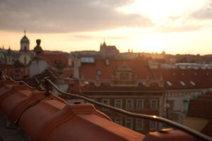 On the roof by hombre-cz