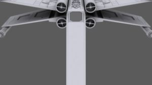 3D X-Wing WIP by Subodai