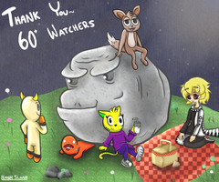 Thank You For 60+ Watchers! by HashSlash