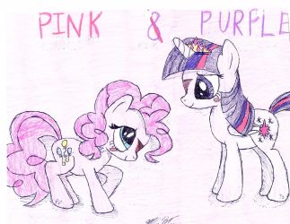Pink And Purple by BlueBookWard
