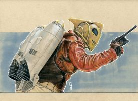 The Rocketeer by Geekincognito
