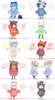 :DMMd: group in sweaters by MMtheMayo