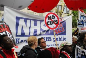 May 18th 2013 - Save the NHS: 13 by LouHartphotography