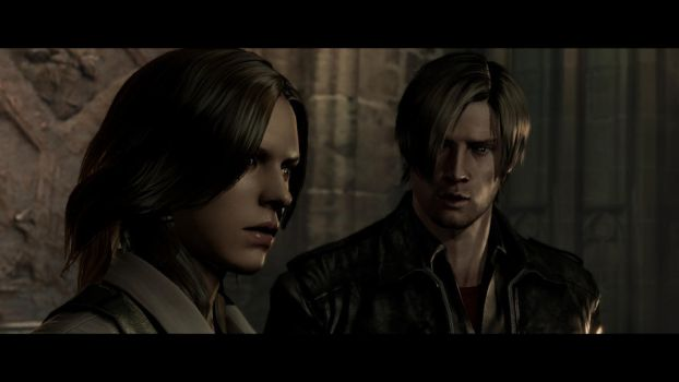 Leon S. Kennedy and Helena Harper by Plamber