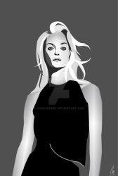 Quick digital Illustration of Theres Alexandersson by covdashart