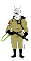 Ghostbusters: Cedric by TateShaw