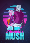 Crumble and Mush - 80s Poster by FlixArts