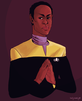 Tuvok by teaofrage