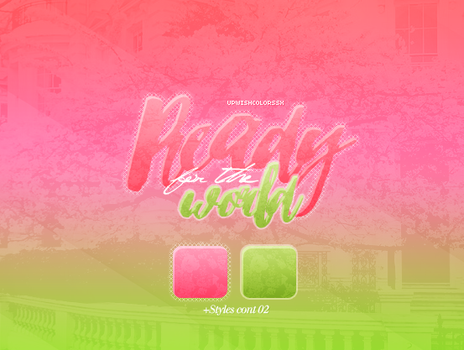Recursos Ready|Styles by UpWishColorssx