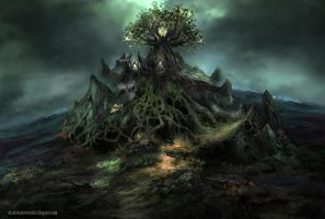 The witch's nest by lavam00