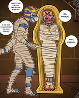 The Mummy's Bride by DameDiner