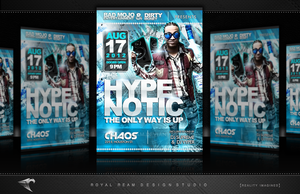 Promotional and Club Flyers by RoyalReam