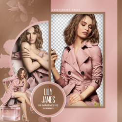 Png Pack 975 // Lily James by confidentpngs