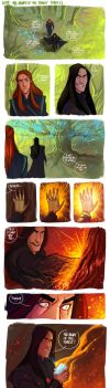 LOTR - The Heart Of The Forest (part2) by the-evil-legacy
