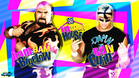 WWE In Your House Custom MatchCard By: KalistOMG by KalistOMG